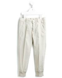 Pantalones en beige de Il Gufo