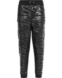 Pantalones estampados negros de Kenzo