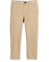 Pantalones marrón claro de Burberry