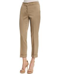 Pantalones marrón claro de Etro