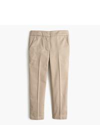 Pantalones marrón claro de J.Crew