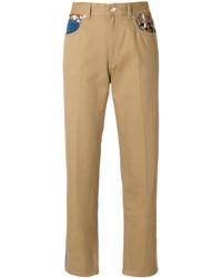 Pantalones marrón claro de Sonia Rykiel