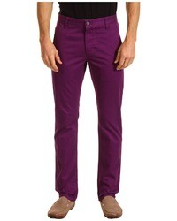 6221cac428 Comprar unos pantalones morado Hugo Boss