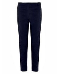 Pantalones pitillo azul marino