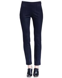 Pantalones pitillo azul marino de Chloé