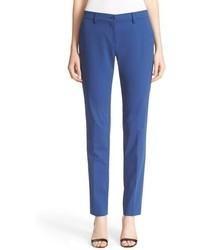 Pantalones pitillo azules de Etro