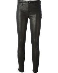Pantalones pitillo de cuero negros de IRO