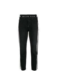 Pantalones pitillo en negro y blanco de Philipp Plein