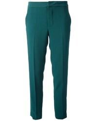 Pantalones pitillo en verde azulado de Marc by Marc Jacobs