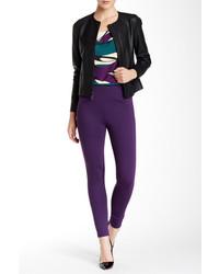 Pantalones pitillo en violeta