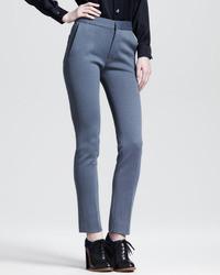 Pantalones pitillo grises de Chloé