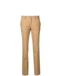 Pantalones pitillo marrón claro de Etro