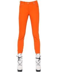 Pantalones pitillo naranjas de Kenzo