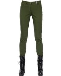 Pantalones pitillo verde oliva de Kenzo