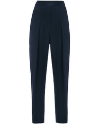 Pantalones plisados azul marino de 3.1 Phillip Lim