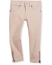 Pantalones rosados de Burberry