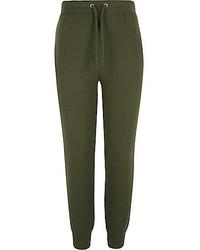 Pantalones verde oliva