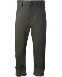Pantalones verde oliva de Haider Ackermann
