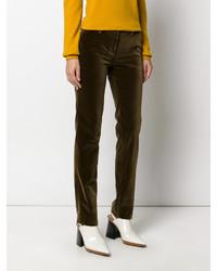 Pantalones verde oliva de Etro