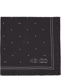 Pañuelo de bolsillo a lunares en negro y blanco de Kenzo