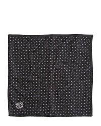Pañuelo de bolsillo a lunares negro de Dolce & Gabbana