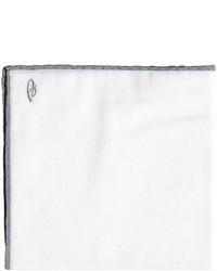Pañuelo de bolsillo blanco de Brioni