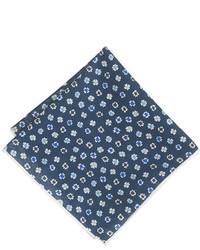 Pañuelo de bolsillo con print de flores azul marino de J.Crew