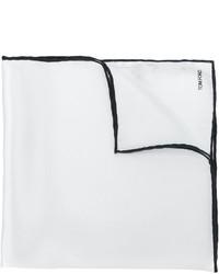Pañuelo de bolsillo de seda blanco de Tom Ford