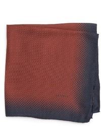 Pañuelo de Bolsillo de Seda Rojo de Lanvin