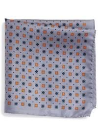 Pañuelo de bolsillo de seda violeta claro de Eton