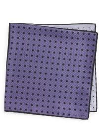 Pañuelo de Bolsillo de Seda Violeta Claro de Lanvin