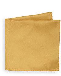 Pañuelo de bolsillo dorado