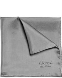 Pañuelo de bolsillo en gris oscuro