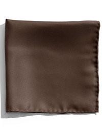 Pañuelo de bolsillo en marrón oscuro de Nordstrom