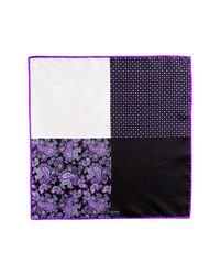 Pañuelo de bolsillo en violeta