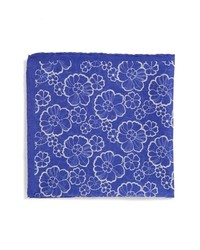 Pañuelo de bolsillo estampado azul de Eton