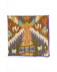 Pañuelo de bolsillo estampado en multicolor de Armstrong & Wilson