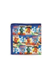 Pañuelo de bolsillo estampado en multicolor de Eton
