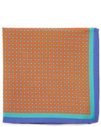 Pañuelo de bolsillo estampado naranja de Ted Baker London