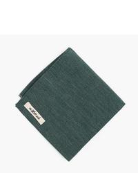 Pañuelo de bolsillo verde oscuro de The Hill-Side