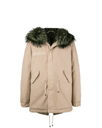 Parka en beige de Mr & Mrs Italy