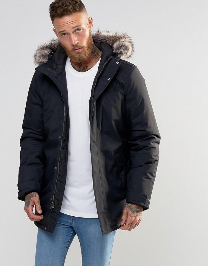 parka zaneck north face