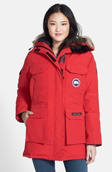 Canada Goose Banff Parka rojas