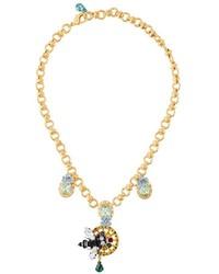 Pendentif doré Dolce & Gabbana