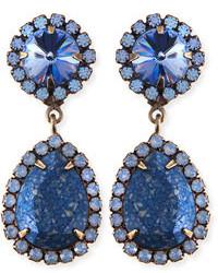 Pendientes Azul Marino