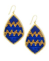 Pendientes azules de Nakamol