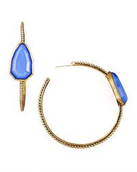 Pendientes azules de Stephen Dweck