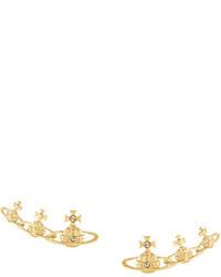 Pendientes Dorados de Vivienne Westwood