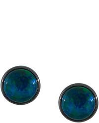 Pendientes en verde azulado de Astley Clarke