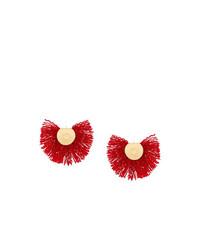 Pendientes rojos de Katerina Makriyianni